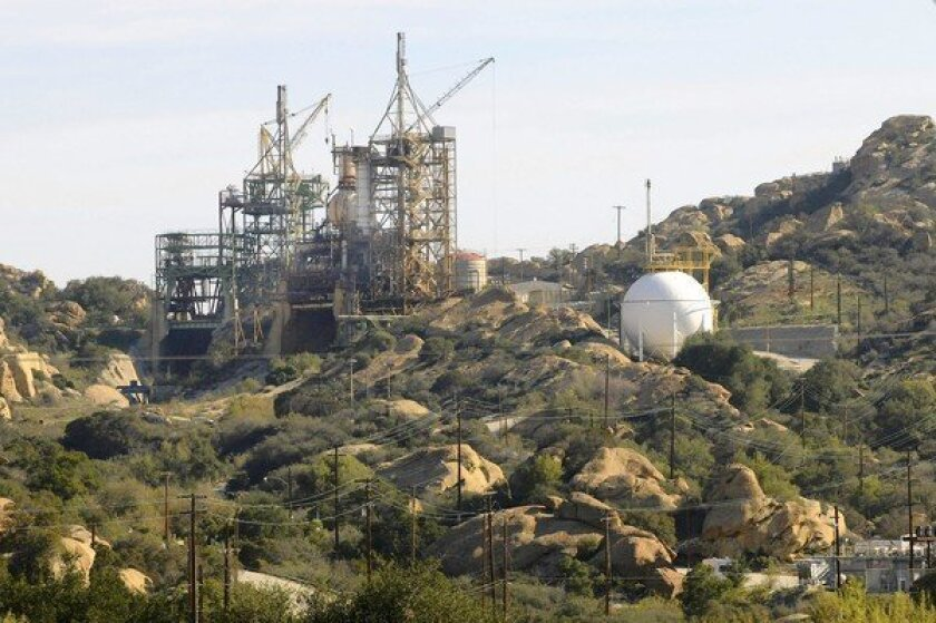 Radioactive hot spots remain at former research facility's site