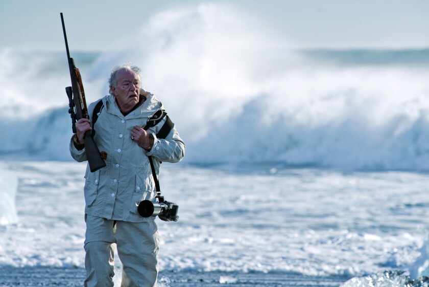 "Michael Gambon in ""Fortitude,"" a mystical murder-mystery in the Arctic."