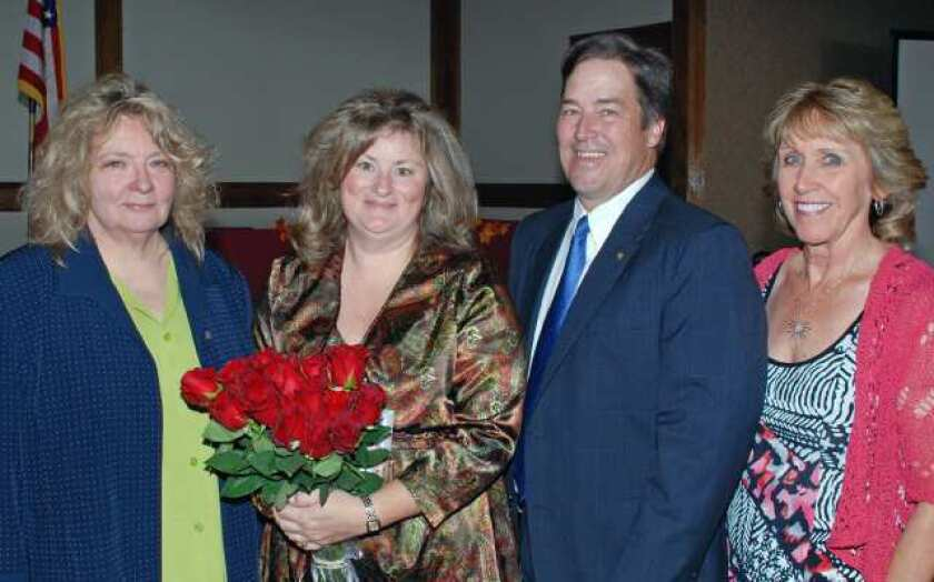 On the Town: Zonta Club honors Woman of the Year