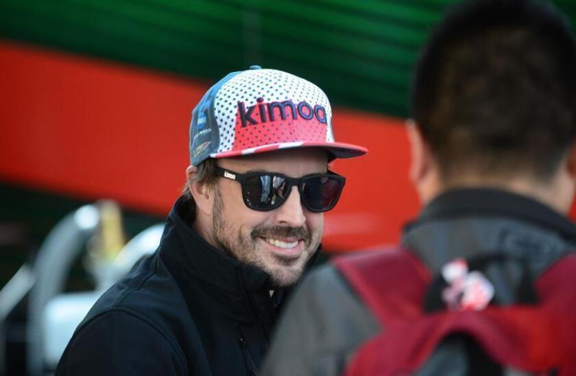 El piloto español Fernando Alonso. EFE/Archivo