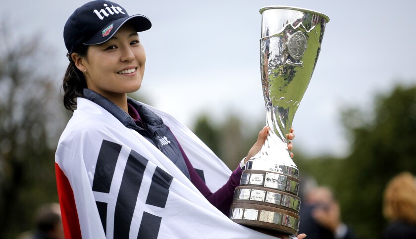 In Gee Chun wins Evian Championship in record 21 under par - Los Angeles  Times