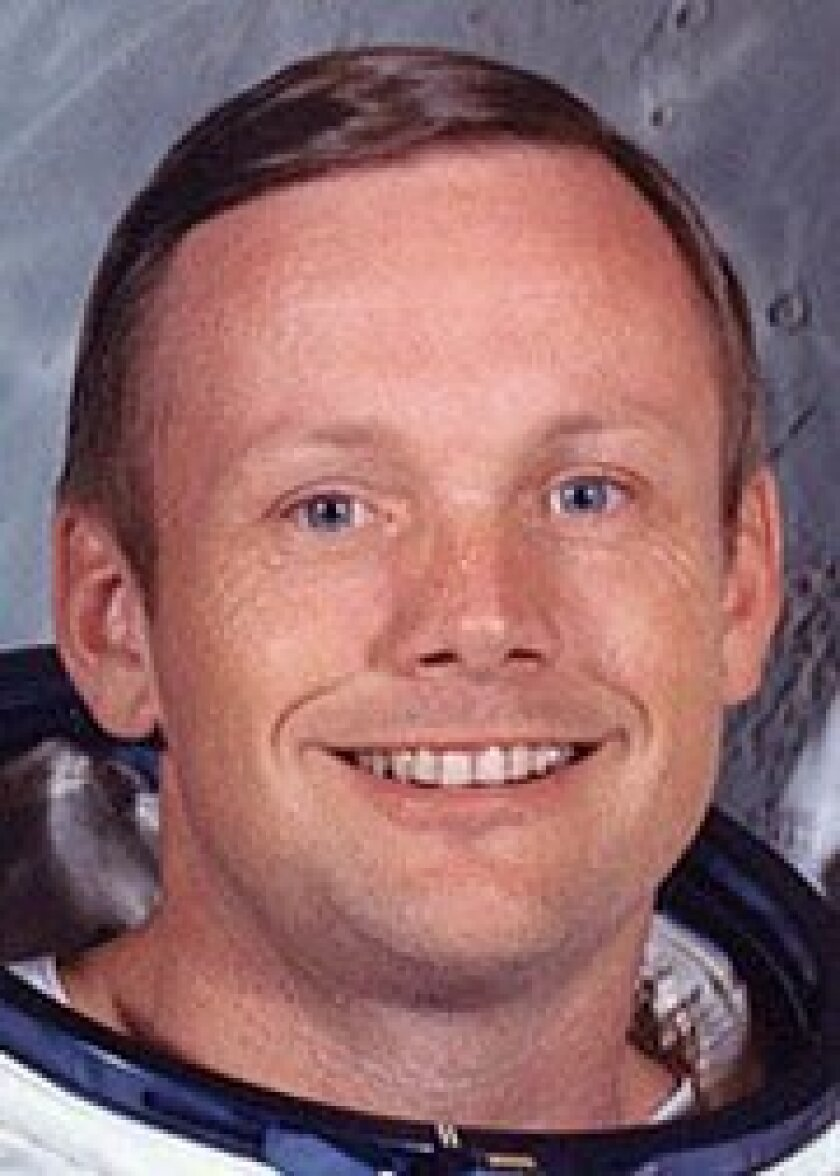 Neil Armstrong was Apollo 11's commander.
