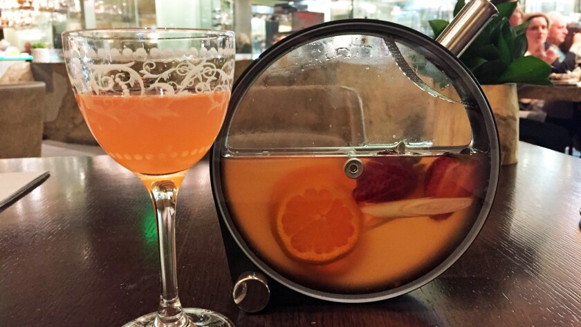 Cocktail infusion