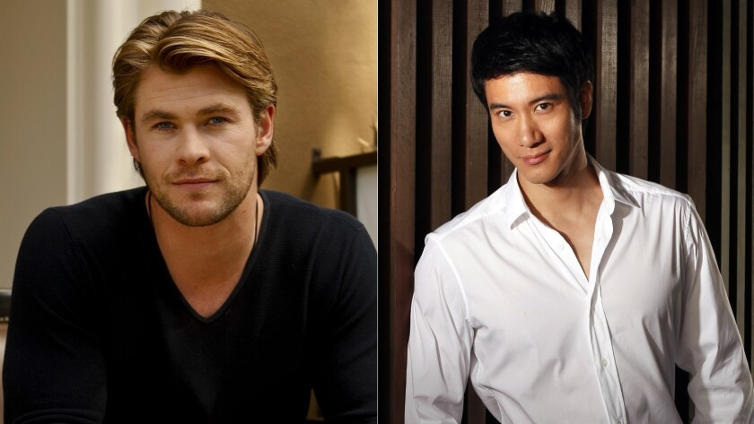 Chris Hemsworth and Leehom Wang