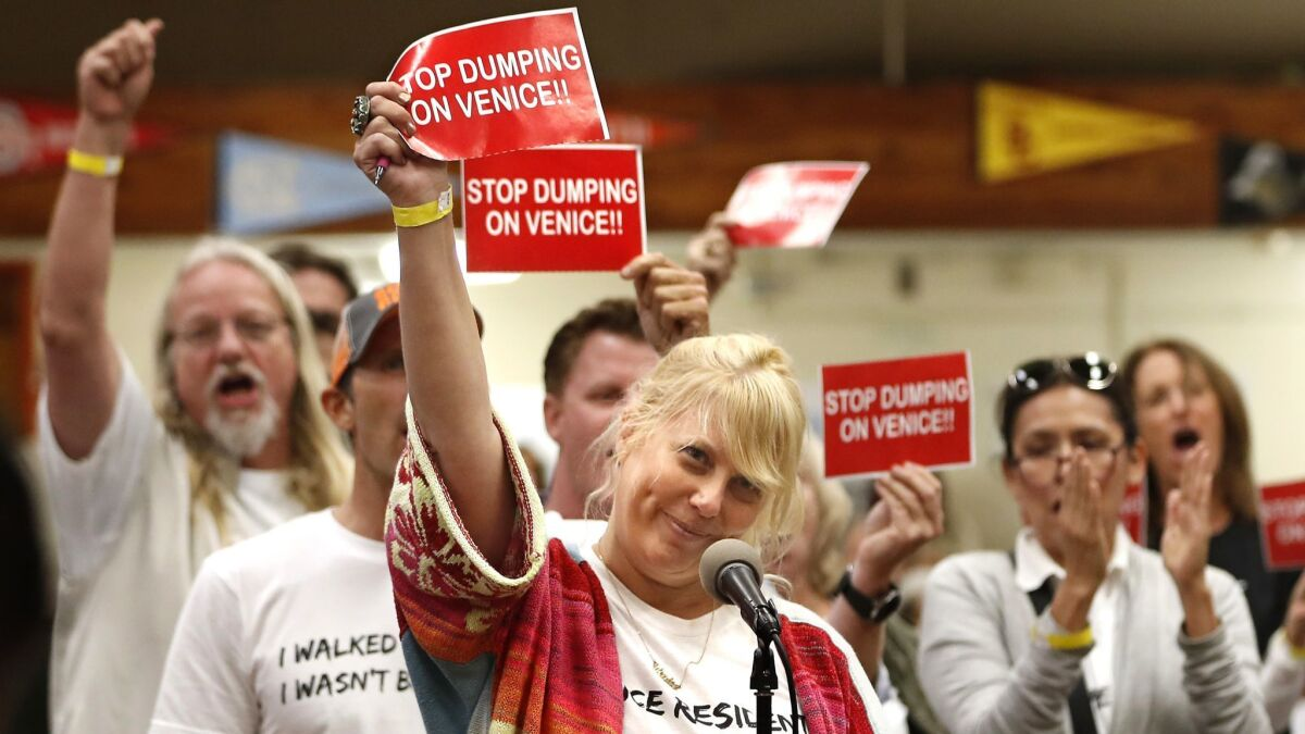 Judge rejects challenge to Venice homeless shelter