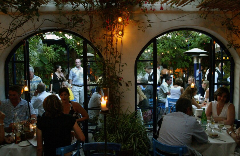 The Little Door was the sole L.A. restaurant to make OpenTable's 100 most romantic restaurants in the U.S.