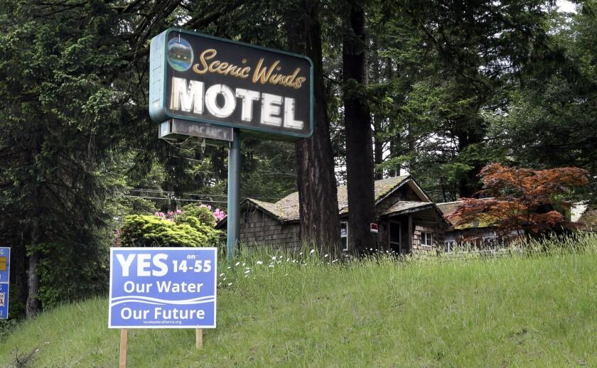 The Scenic Winds Motel in Cascade Locks, Ore.