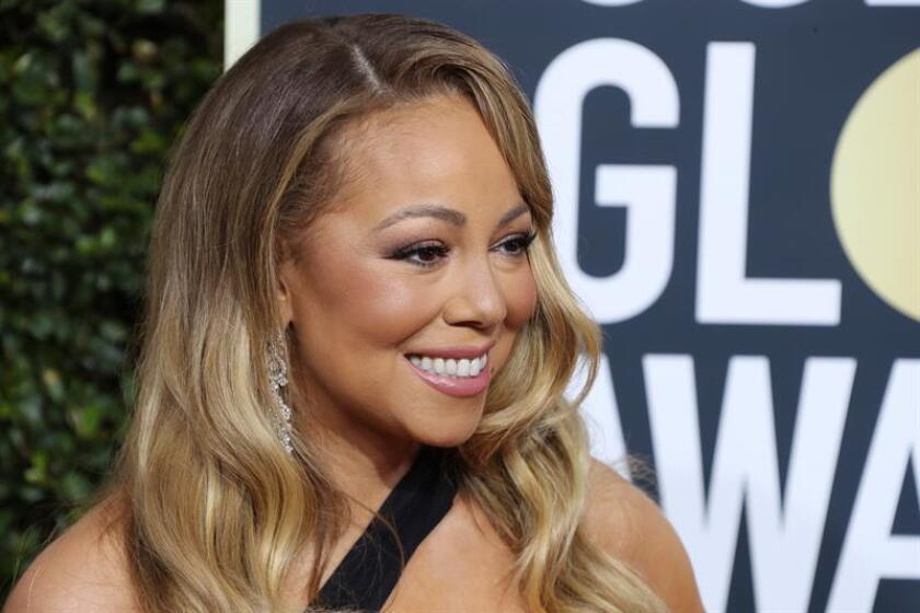 Mariah Carey arrives for the 75th annual Golden Globe Awards ceremony at the Beverly Hilton Hotel in Beverly Hills, California, USA, 07 January 2018. EFE/EPA/File