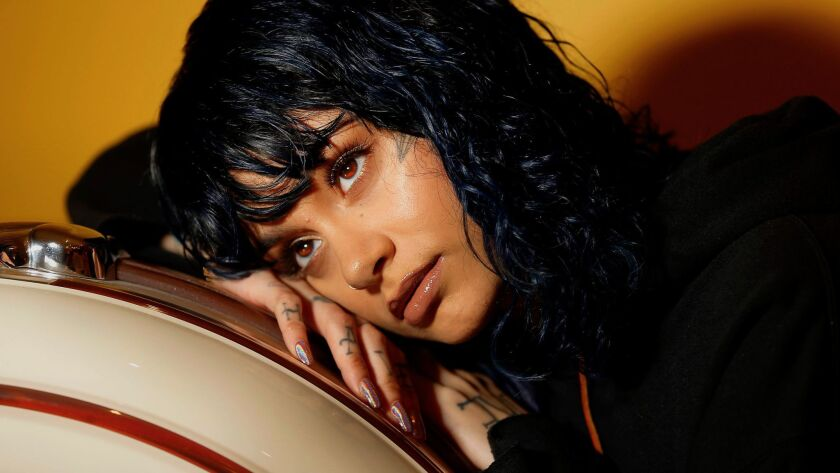 """""""Because I've been in too many situations where I wasn't down to be here, I just want to be happy and healthy,"""" Kehlani says about her new outlook."""