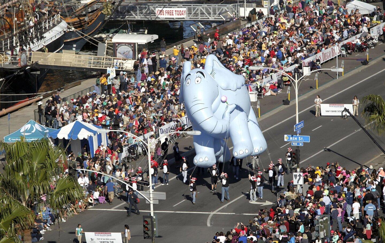 2013 Holiday Bowl Big Bay Balloon Parade
