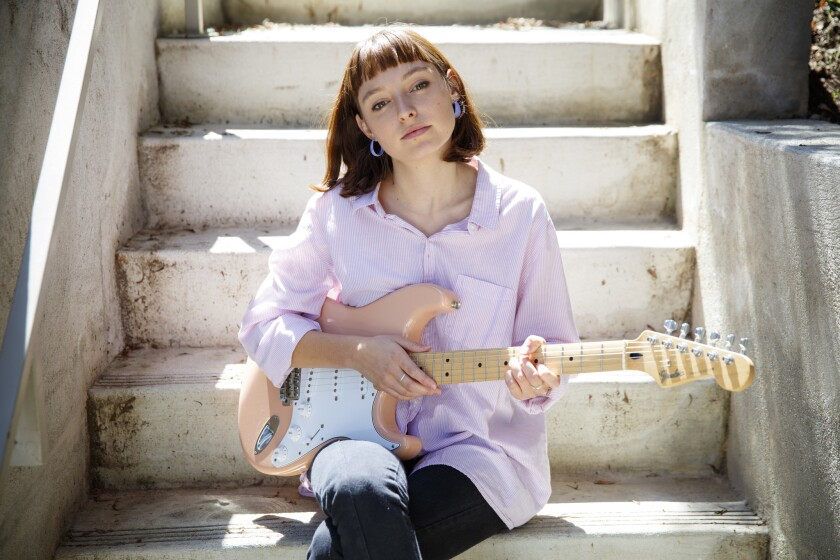 Australian musician Stella Donnelly photographed in Echo Park.
