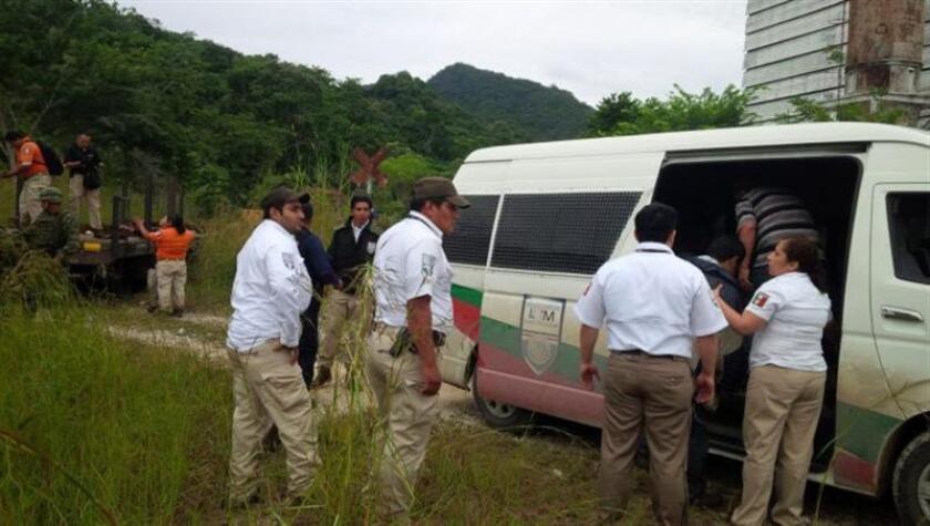 El Movimiento Migrante Mesoamericano denunció hoy que la situación ha empeorado en toda la región y que en México aumentan los secuestros de migrantes y de las agresiones a defensores de derechos humanos. EFE/Archivo/SOLO USO EDITORIAL