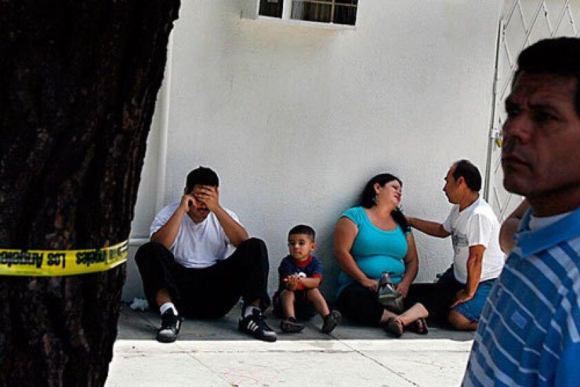 Latino gunned down