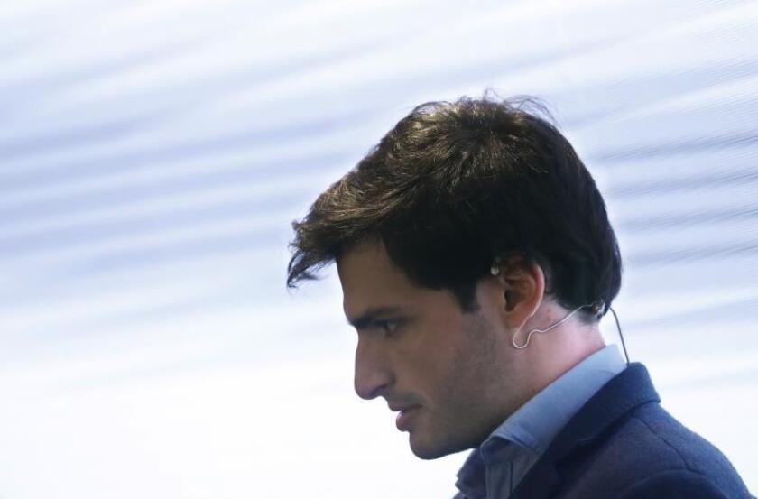El piloto español de Fórmula 1 Carlos Sainz Jr. EFE/Archivo