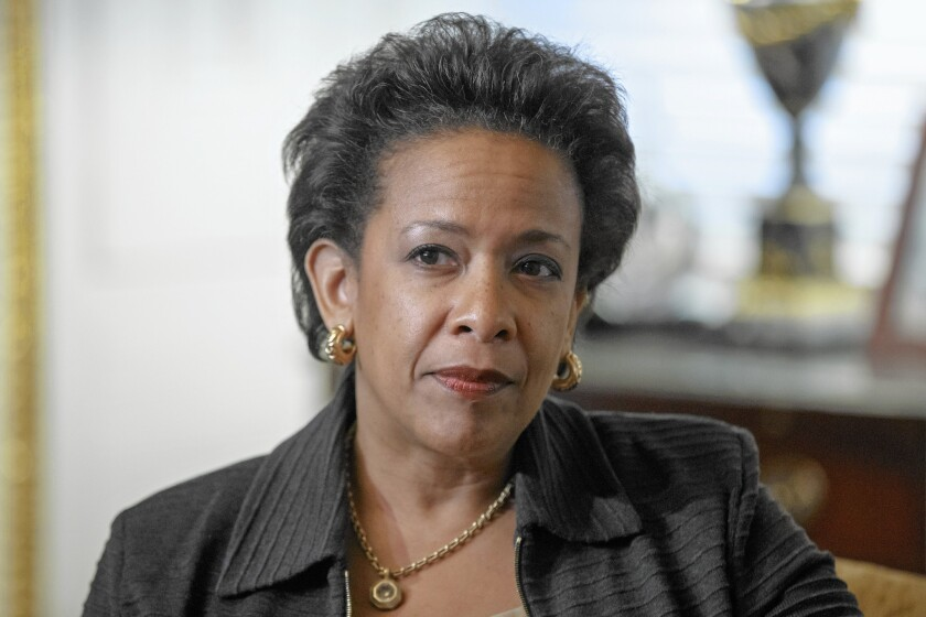 Loretta Lynch helped train inexperienced lawyers serving at the U.N.-established court who were given the task of prosecuting those responsible for the 1994 genocide.