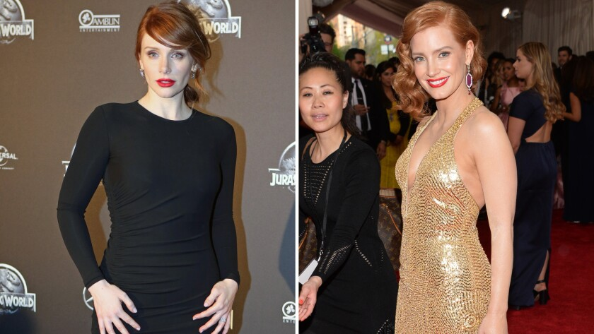 Bryce Dallas Howard, Jessica Chastain