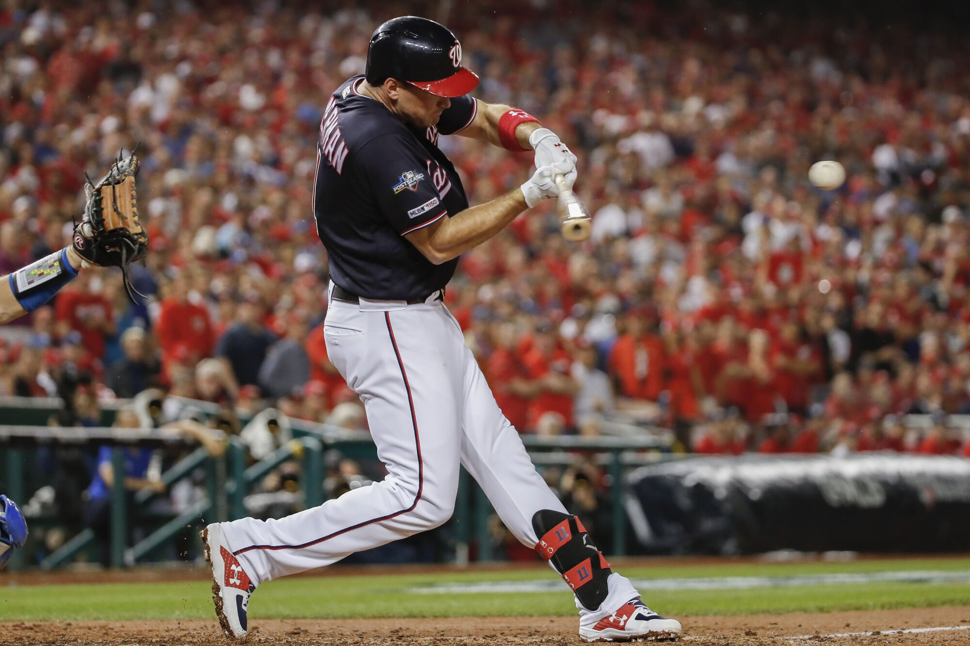Ryan Zimmerman hit a key home run off Pedro Baez in the fifth to give the Nationals a win in Game 4.