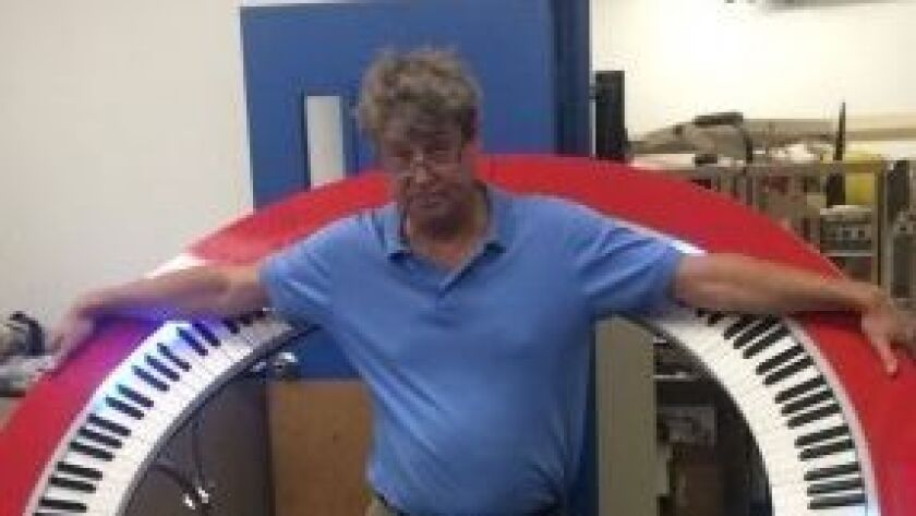 Dave Starkey, of La Jolla, founded PianoArc with longtime friend Chuck Johnson, of Boston, and musician Brockett Parsons, of Santa Barbara, to revolutionize the music industry by thinking outside the box.