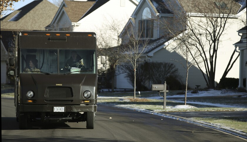 UPS, FedEx and others are bracing for what they expect to be a week of record-setting returns as Americans head back to work - and drop off their boxed-up returns on the way.