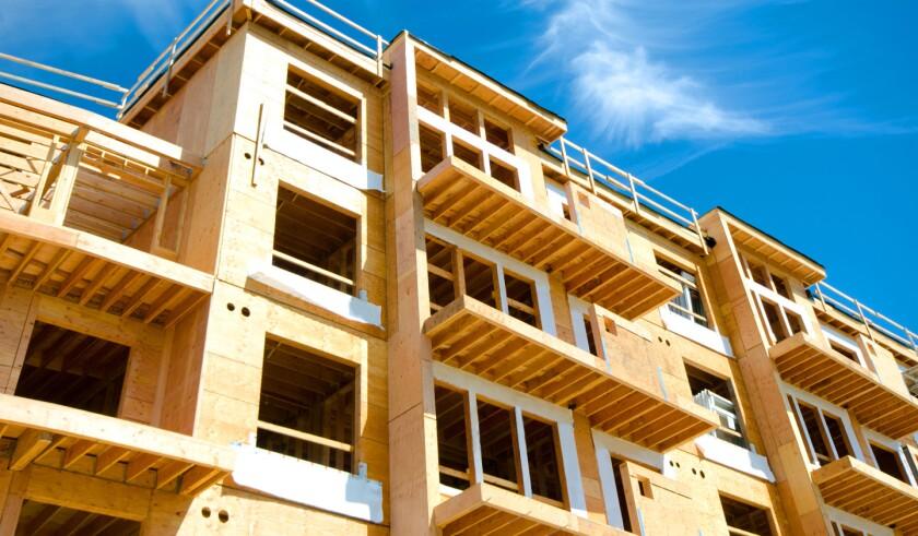 Apartment Condominium Complex, Wood Frame Construction, Victoria