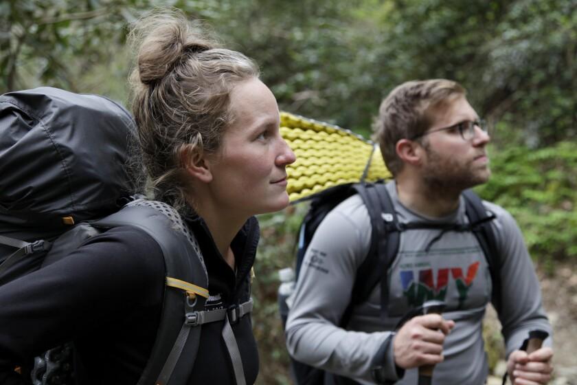 Virus Outbreak Appalachian Trail Hikers