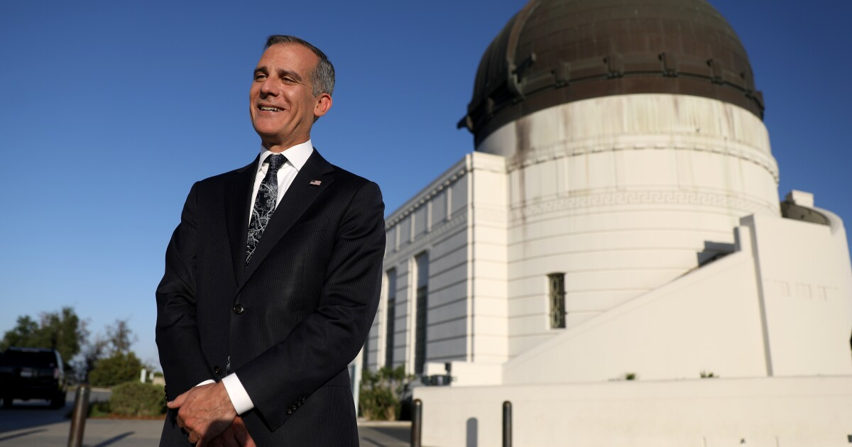 Column: If Garcetti leaves early for India ambassador post, how will he be remembered?