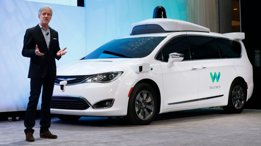Waymo is the self-driving-vehicle company created by Google's parent company, Alphabet.