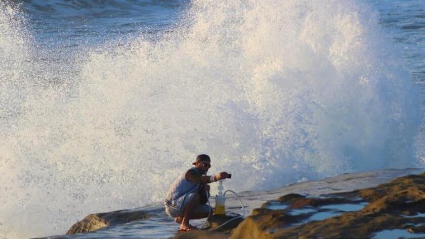 Sunset Cliffs selfie (/ Gary Robbins)