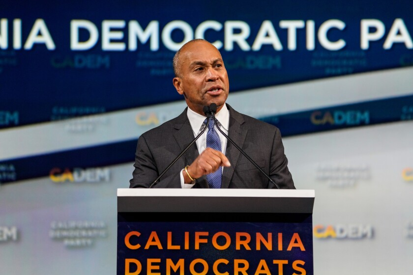 The shifting Democratic presidential primary is on full display at California party convention
