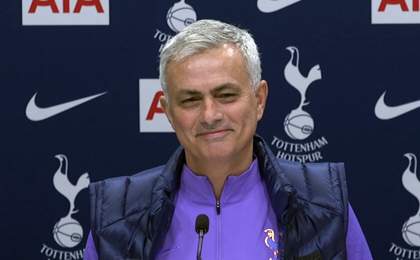 Britain Soccer Tottenham Mourinho