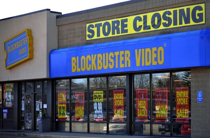 Blockbuster store closings