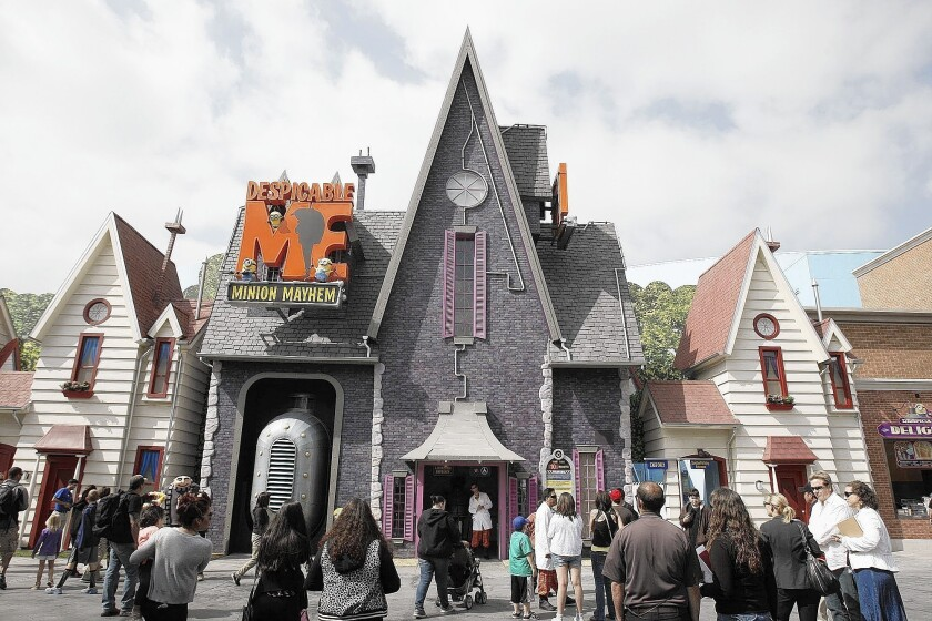 Universal Studios Hollywood taps into 'Despicable Me's' minion power