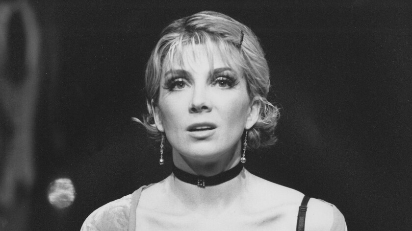 Natasha Richardson as Sally Bowles in 1998.