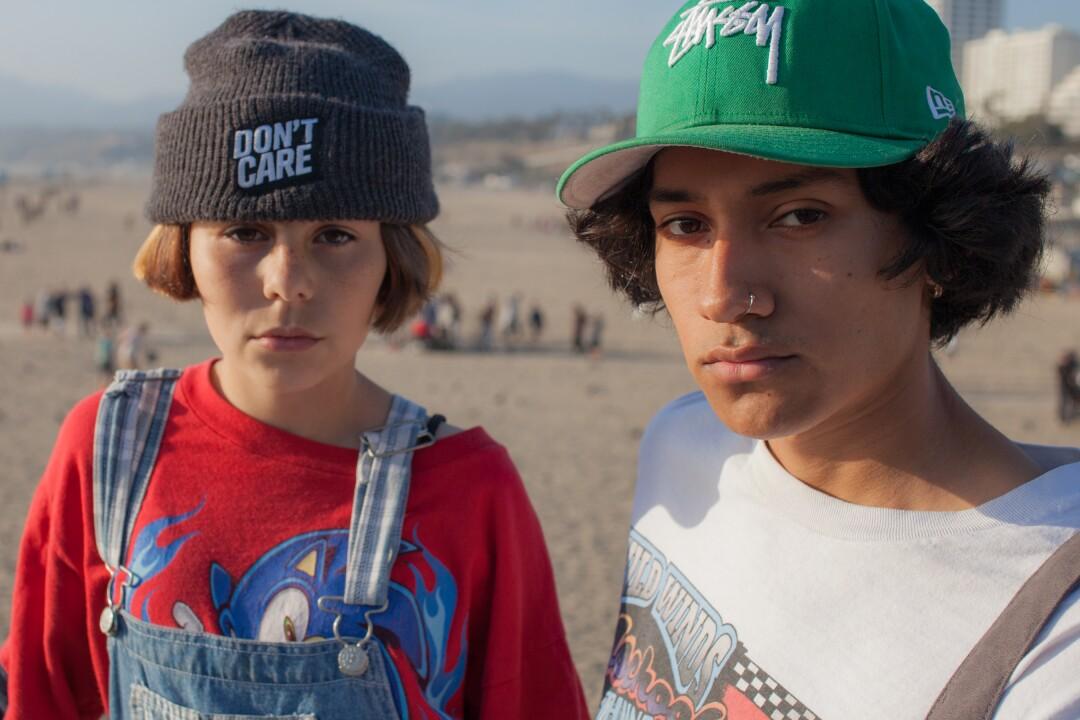 """February 17, 2020 - Faces, Yvonnie and Jairo, Santa Monica"" by Rafael Cardenas"