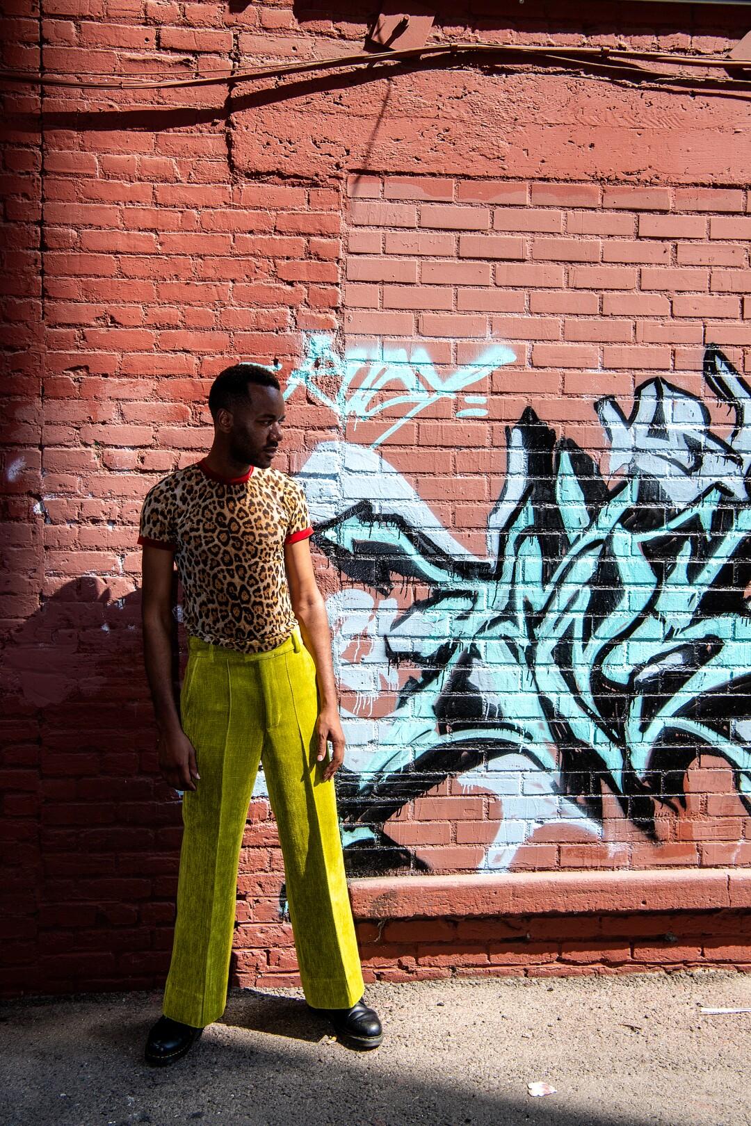 Portrait of fashion designer Kenneth Nicholson.