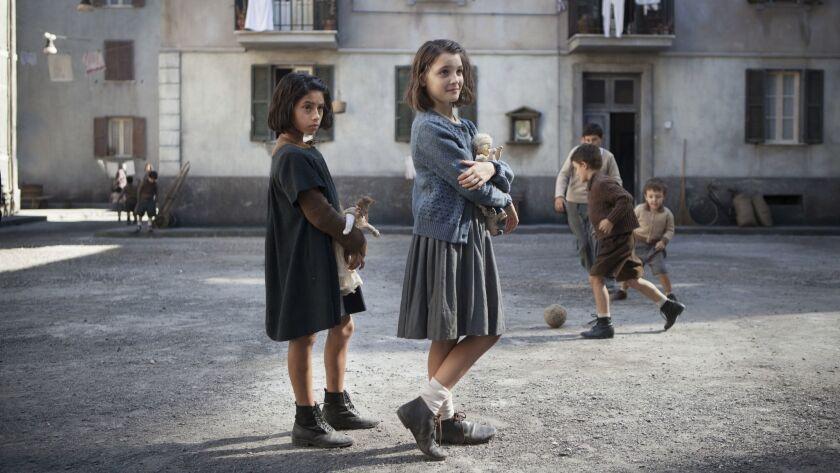 """(L-R) Ludovica Nasti and Elisa Del Genio star in the HBO series """"My Brilliant Friend,"""" based on Elen"""