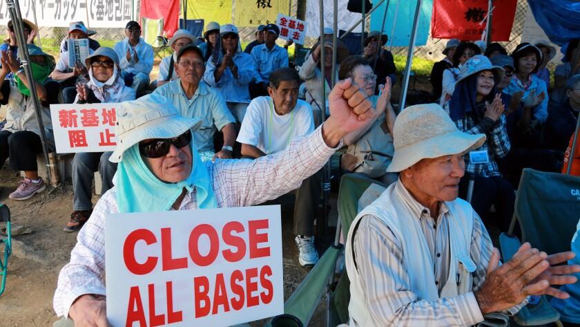 Okinawa to revoke landfill approval for US base