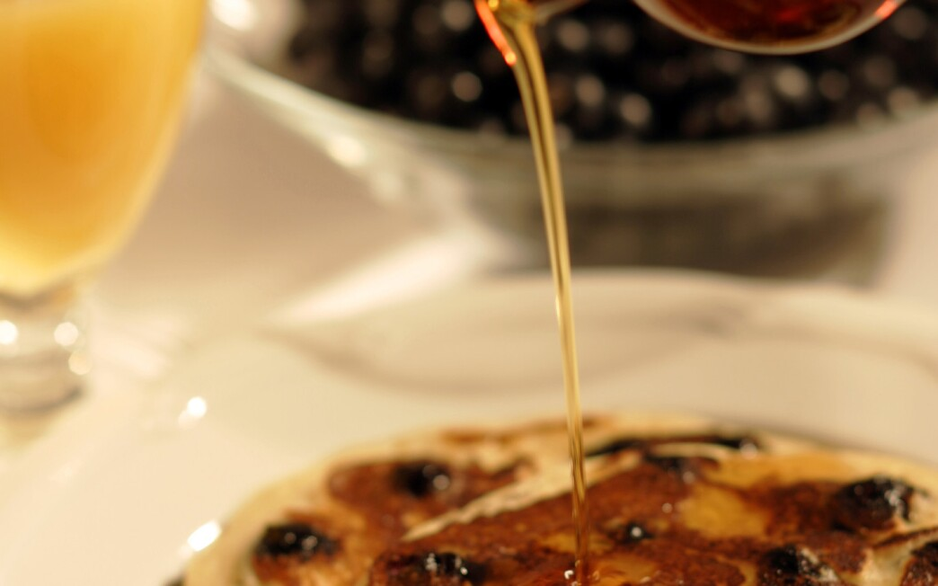 BLD's blueberry ricotta pancakes