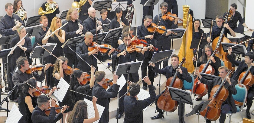 Kaleidoscope Chamber Orchestra performs at Santa Monica's First Presbyterian Church