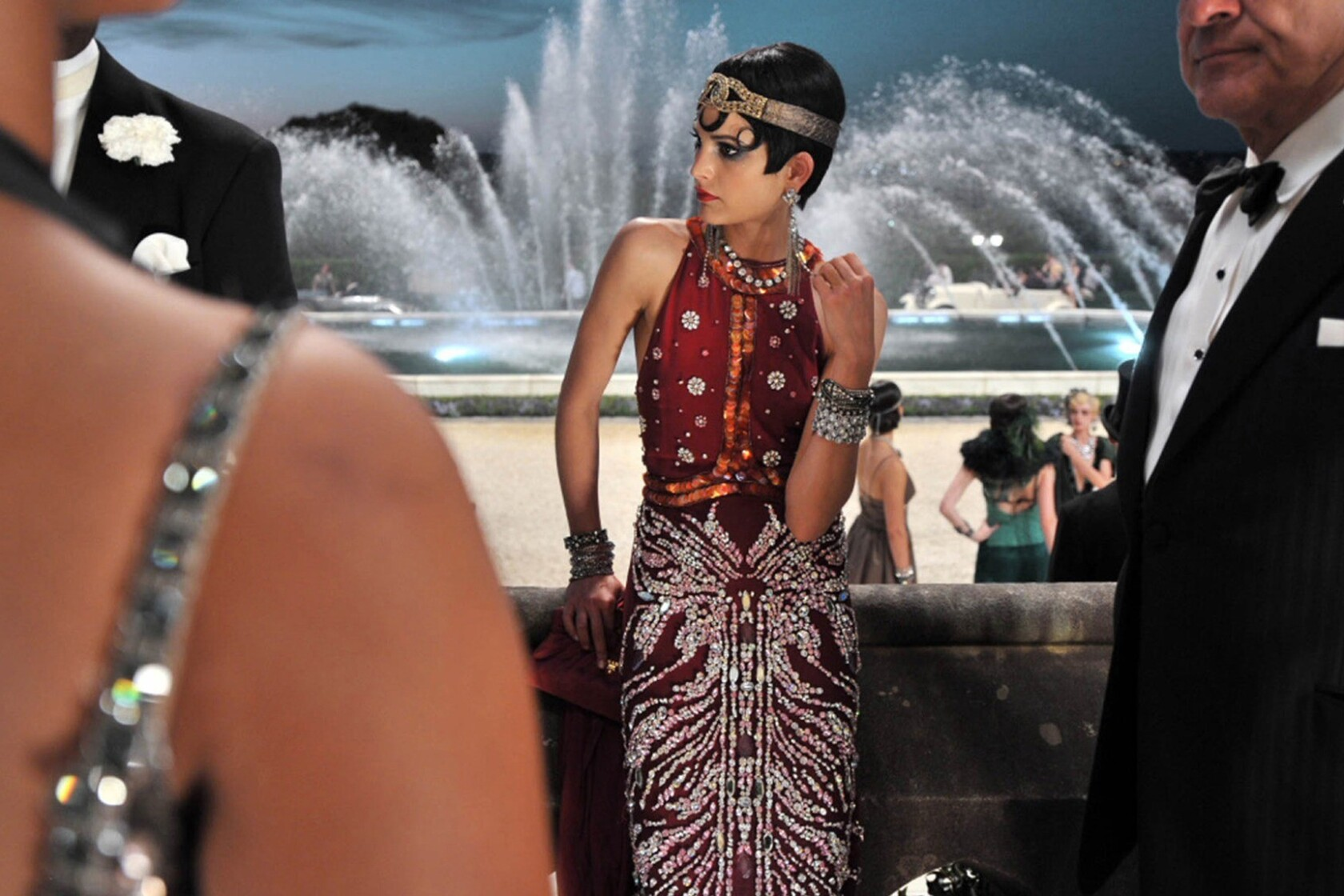 1920s Fashion Roars Back In The Great Gatsby Los Angeles Times