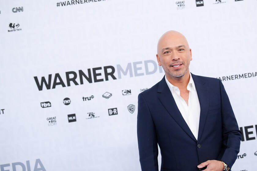 A 2019 photo of Jo Koy at WarnerMedia Upfront