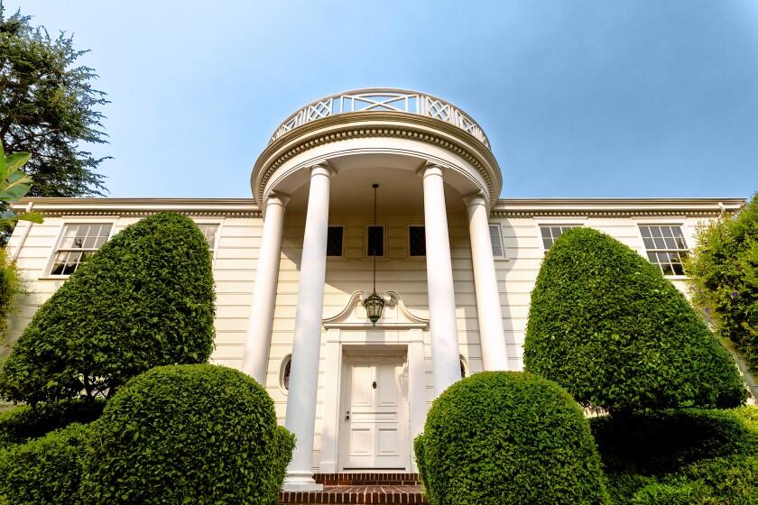 La mansión de los Banks.