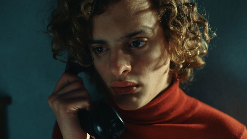 "Lorenzo Ferro in the film ""El Angel."""