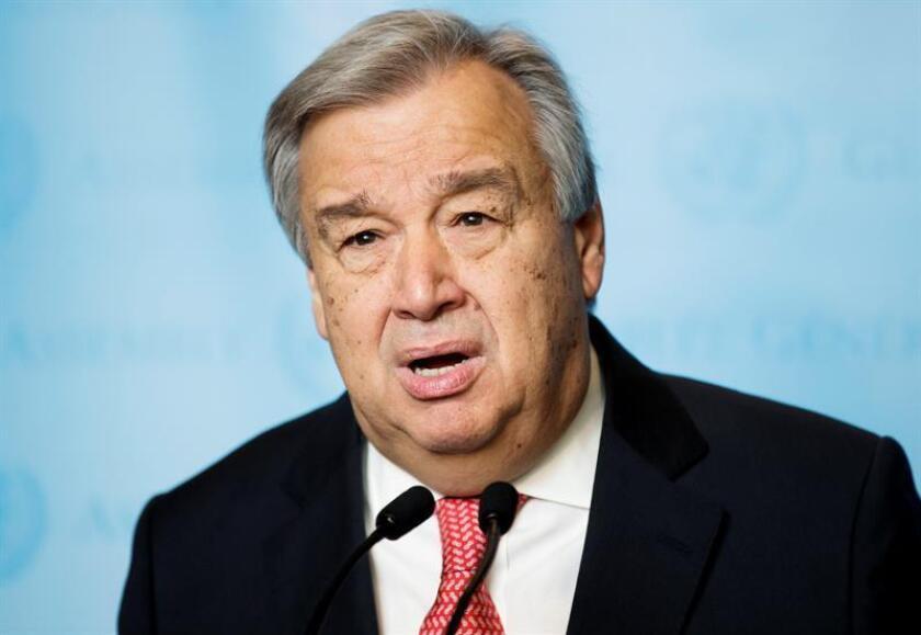 Naciones Unidas salió hoy al paso de las criticas vertidas en Guatemala contra la Comisión Internacional Contra la Impunidad en el país (Cicig) y defendió el trabajo del jefe de este organismo, el colombiano Iván Velásquez. EFE/ARCHIVO