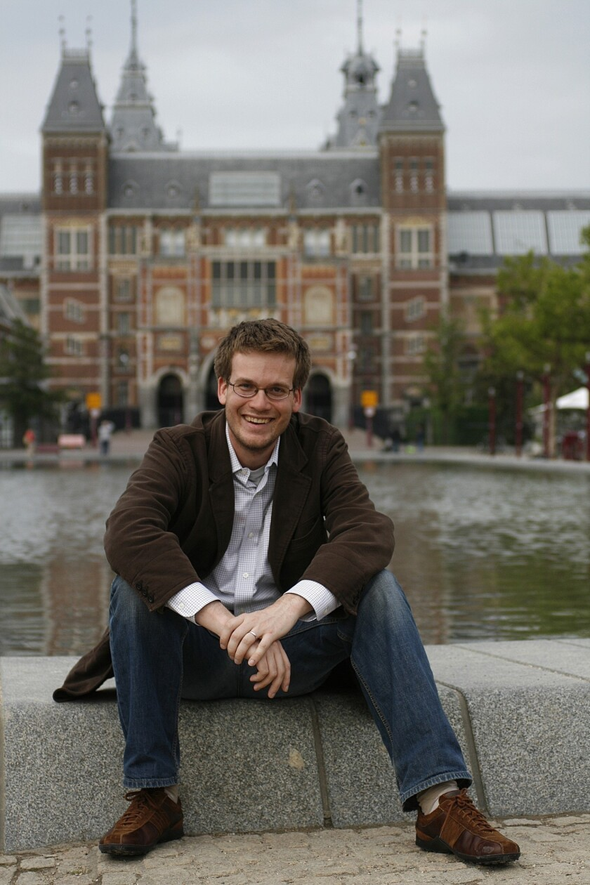 Author and activist John Green will receive the L.A. Times book prize Innovators Award.
