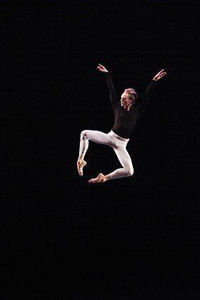 Bolshoi Ballet dancer David Hallberg