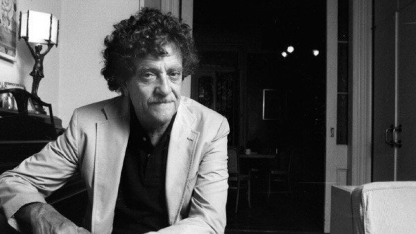 Kurt Vonnegut at his home in New York in 1985.
