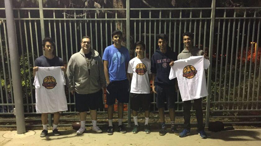Carmel Valley Select teen coaches.