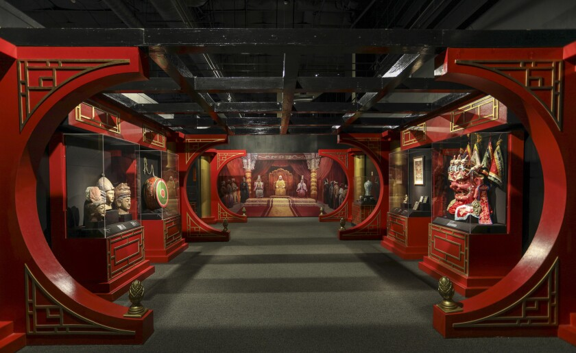 Genghis Khan: The Exhibition at the Ronald Reagan Presidential Library in Simi Valley, CA. Xanadu (Y