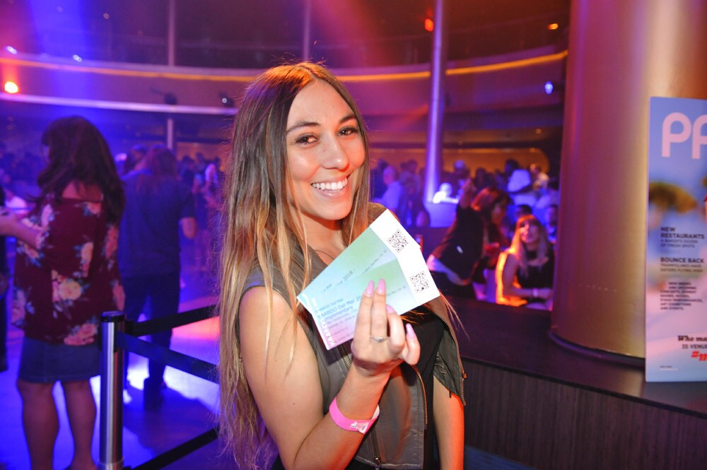 50 lucky guests won tickets to KAABOO Del Mar at a giveaway party hosted by PACIFIC magazine at OMNIA San Diego on Thursday, Aug. 30, 2018.